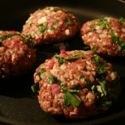 Homemade Burgers with Fresh Herbs