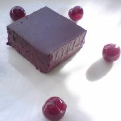 Chilled chocolate fondant
