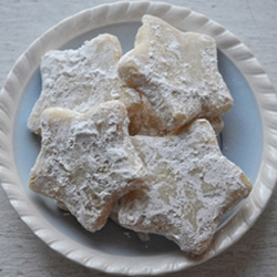 Star Shaped Shortbread