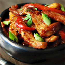 Stir Fried Spicy Pork